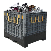 Heavy Duty Industrial 1ton Collapsible Large Container for Auto Parts