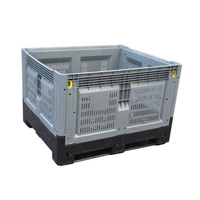 Collapsible large Mesh Plastic Pallet Box
