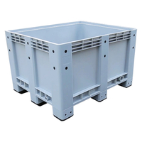 Battery Storage Use Heavy Duty Plastic Pallet Bin