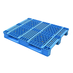 Heavy Duty Economic Racking Use Vented Single Face Euro Plastic Pallet