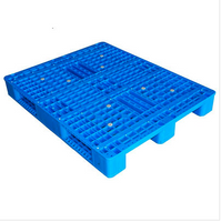 Heavy duty 3 skids racking plastic pallet