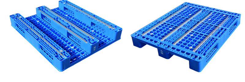 How many types do plastic euro pallets have?