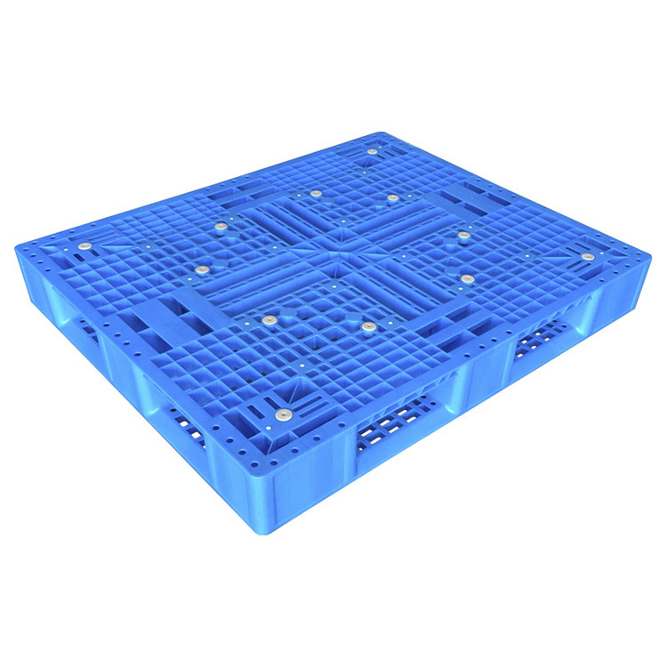 1200x1000 Double Sides Cement Factory Stacking Plastic Pallet