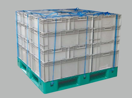 Auto Parts EU crate (with pallet and lid)