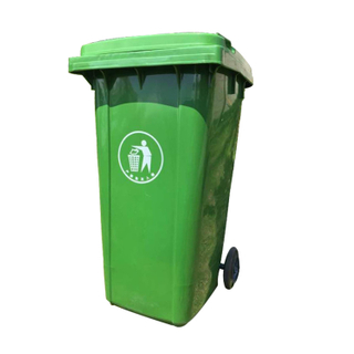 240L Outdoor Hdpe Recyclable Plastic Waste Bin